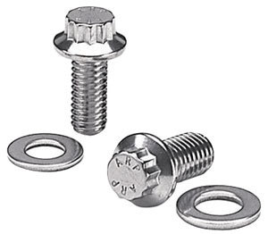 1961-73 Tempest Alternator Bracket Bolts Stainless, 12-Point