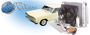 1968-1977 Chevelle Cooling Module Assembly, Super Street (Power) AT, Natural, by Be Cool