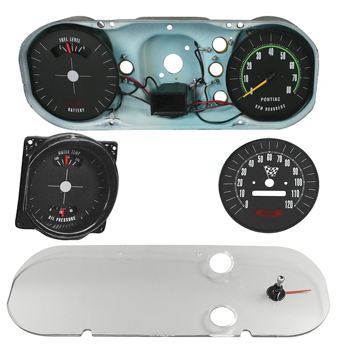 service manual 1965 pontiac gto removal cluster 1965 gto rally gauges wiring diagram #13
