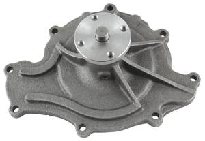 1959-68 Grand Prix Water Pump, Reproduction V8, 8-Bolt Style
