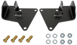1969-1972 Grand Prix Motor Conversion Mounts for Grand Prix, Chevrolet Steel Plates, by RESTOPARTS