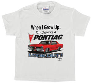 Pontiac Kids Romper Shirt 4T/XS