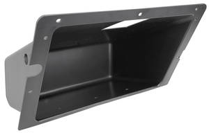 1969-72 GTO Glove Box, Interior Plastic, w/o Hardware