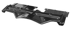 1968-1968 Grand Prix Radiator Support Top Plate, 1968 Black, by RESTOPARTS