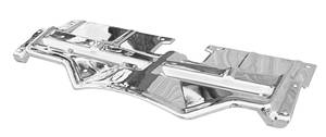 Grand Prix Radiator Support Top Plate, 1968 Chrome, by RESTOPARTS