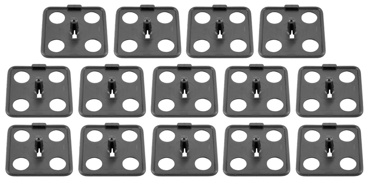Photo of Underhood Insulation Clips all models, plastic (14-piece)