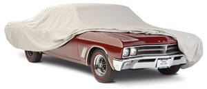 1964-67 GTO Car Cover, Cotton Flannel