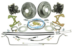 1964-67 GTO Brake Conversion Kits, Rear (Disc) Standard