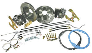 1964-67 Cutlass Brake Conversion Kits, Rear Disc Deluxe Kit