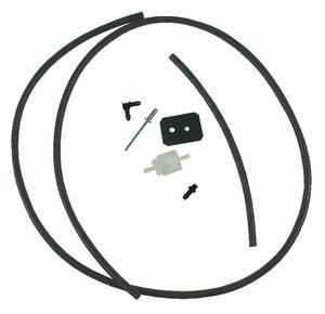 1967-72 GTO Hood Tachometer Vent Line