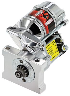 1961-1973 LeMans Starter, XS Torque (200-Ft./Lbs.) Chrome, by POWERMASTER