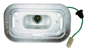 Catalina/Full Size Back-Up Lamp Housing, 1967-68 All Models