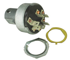 1962-65 Tempest Ignition Switch w/o AC, w/o Tumbler