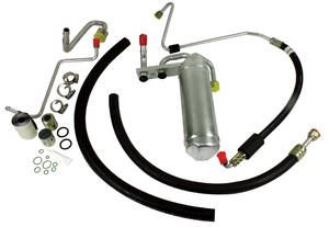 1966-67 GTO Air Conditioning Hose Kit w/POA, by Old Air Products