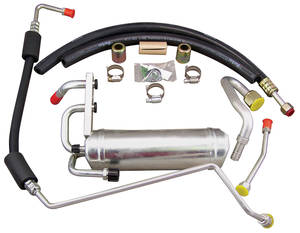 1968-1972 GTO Air Conditioning Hose Kit w/POA