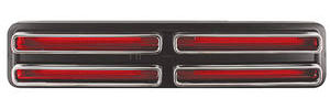 Tail Lamp Lenses, 1967 (GTO)