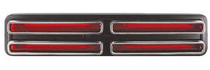 Tail Lamp Lenses, 1967 (GTO)