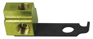 1964-65 GTO Brake Fluid Distribution Block (Solid Brass)