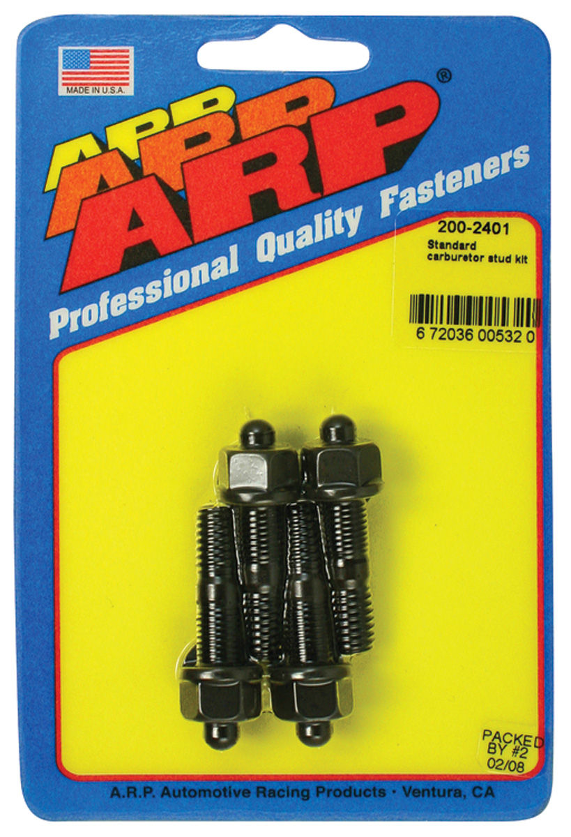 Photo of Grand Prix Thermostat Housing Bolts 12-Point Head black oxide