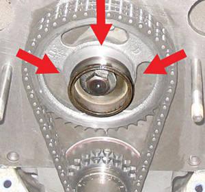 1962-1977 Grand Prix Fuel Pump Eccentric Accessory (V8) Eccentric