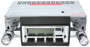 1964-67 Tempest Stereo, Vintage Car Audio 100 Series Chrome