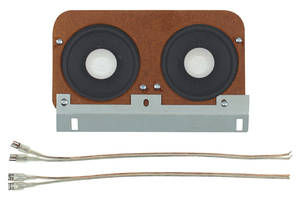 1964-67 GTO Dash Speaker, Standard, by Vintage Car Audio