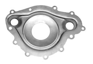 1969-77 Grand Prix Water Pump Divider Plate (Stainless Steel)