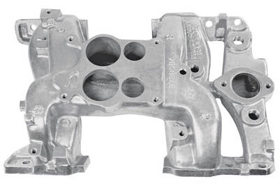 1971 Grand Prix Intake Manifold, Ram IV & H.O. H.O.