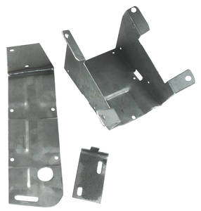 1969-1972 GTO Radio Accessory, 8-Track 3-Piece Bracket w/o Console