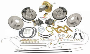 1968-72 Skylark Brake Kit, Complete Front & Rear Disc