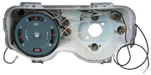 1968 GTO Gauge, Rally Factory Warning Lights