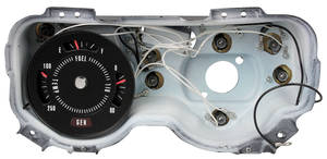 1969-71 GTO Gauge, Rally Factory Warning Lights