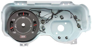 1972-1972 GTO Gauge, Rally Factory Rallye Gauges