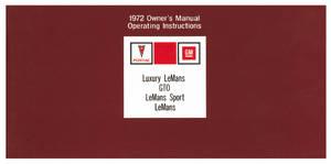 1971-1971 Tempest Pontiac Owner's Manuals