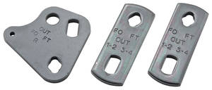 1967-1968 LeMans Shifter Hardware (4-Speed) Tabs Only
