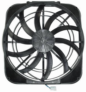 "1961-73 LeMans Electric Fan, Mach Series 16"" Single"