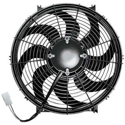 "1961-73 Tempest Electric Fan, Challenger Series 16"" 225W"