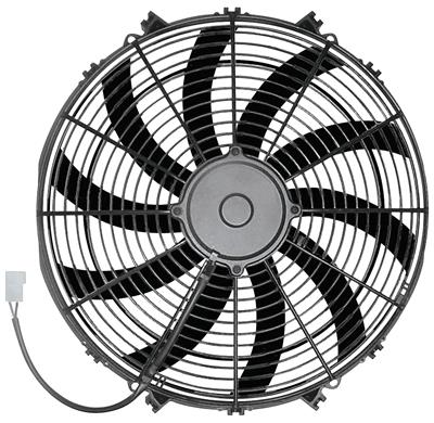 "1959-77 Grand Prix Electric Fan, Champion Series 16"" 160W, by Maradyne"