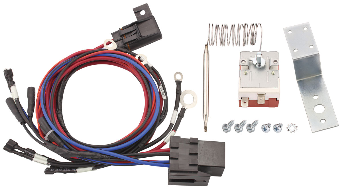 Photo of Electric Fan Harness with Adjustable Sender