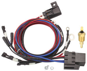 1978-88 El Camino Electric Fan Harness with 185° Sender, by Maradyne