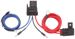 1978-1988 El Camino Electric Fan Harness (Dual Fan Adapter Harness), by Maradyne