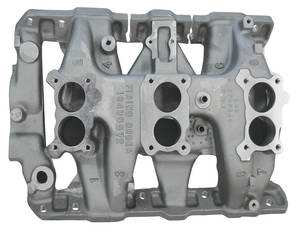 Catalina/Full Size Intake Manifold, 1966 Tri-Power Aluminum