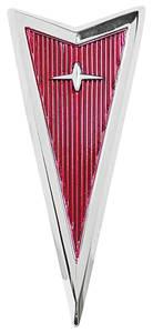 LeMans Hood Emblem, 1972 Arrowhead