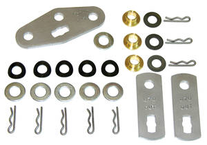 1969-72 Cutlass Shifter Rebuild Kit, Muncie Complete Kit, 28-Piece