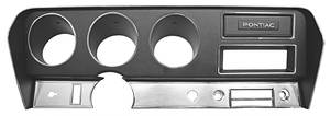 GTO Dash Housing, 1970-72 w/o AC