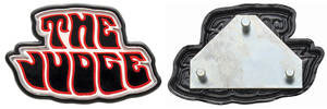 "GTO Glove Box Emblem, 1969-71 ""The Judge"" Pin on"