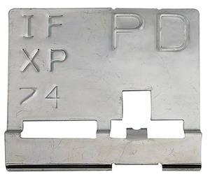 "1970 GTO Radiator Identification Tag RA IV - ""PD"""