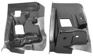1968-1972 Chevelle Firewall Body Mounts, 1968-72 Coupe/El Camino, EDP Coating, by RESTOPARTS