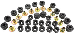 1973-77 El Camino Body Bushing Kit, Complete, by RESTOPARTS