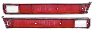 Tail Lamp Lenses, 1970 (GTO) GTO/LeMans Sport